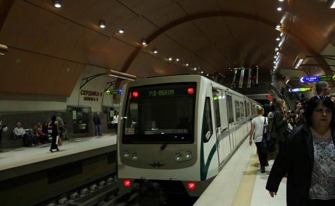 Авария в метрото в час пик