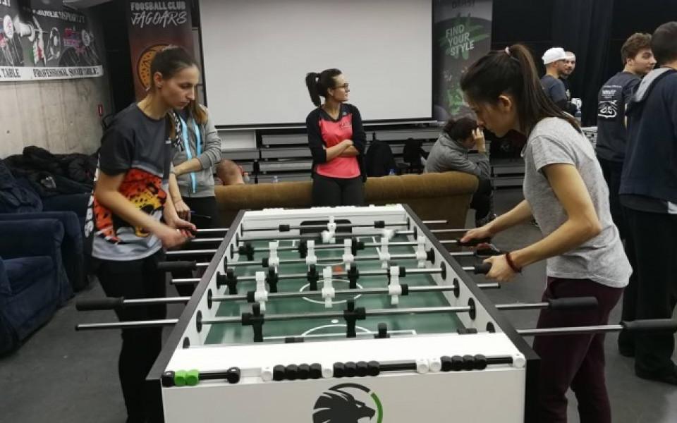Jagoars спечели титлата в Отборното състезание по футбол на маса