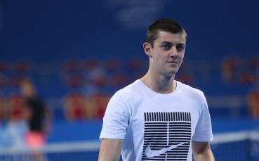 Александър Лазаров на полуфинал в Доха, удари №5 в схемата