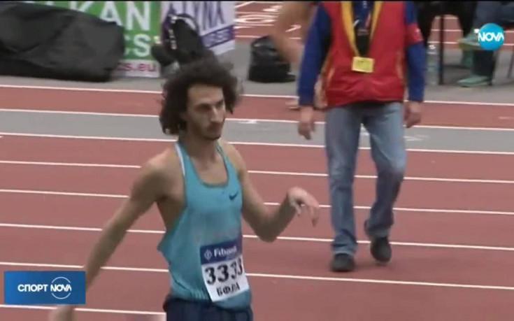 Тихомир Иванов с личен рекорд на държавното първенство в зала