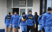 Кадри от днешната тренировка на Левски<strong> източник: LAP.bg, Агнес Методиева</strong>