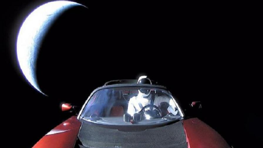 Колата на Мъск в Космоса се оказва полезна на учените