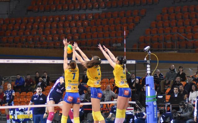 Марица Пловдив спечели редовния сезон в Националната волейболна лига два