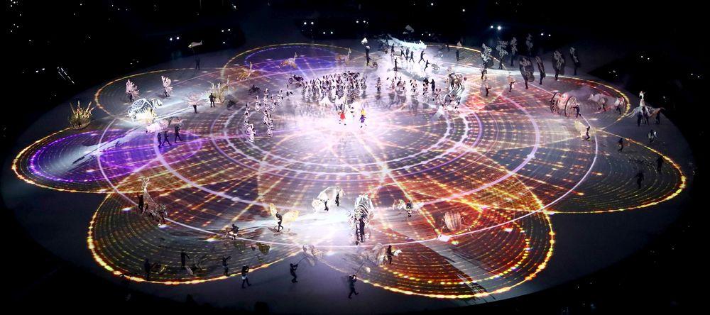 Церемонията по откриването на Зимните олимпийски игри в Пьонгчанг