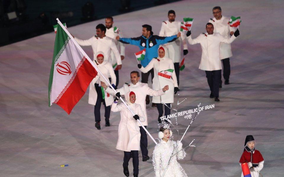 Организаторите се извиниха за гафа с иранските олимпийци