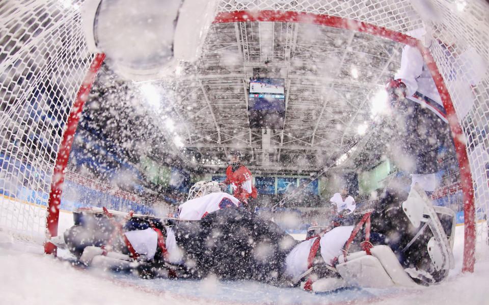 Обединеният отбор на Корея загуби от Швейцария на хокей