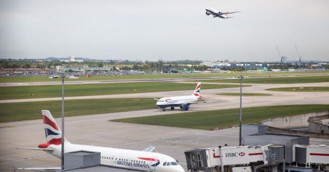 Британското министерство на здравеопазването съобщи, че разполага на лондонското летище