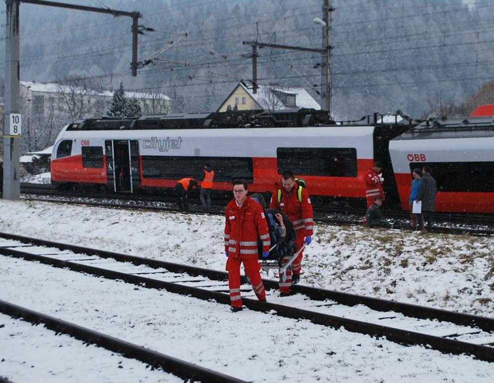 влак Австрия катастрофа