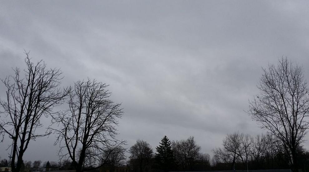 Очаква ни облачен и мъглив понеделник
