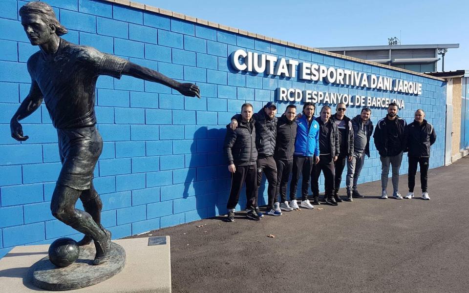 Деветима български треньори взеха дипломи в Еспаньол