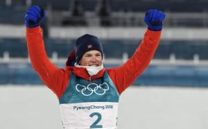 Млад норвежец грабна златото в спринта на ски бягането
