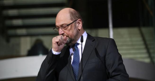 Лидерът на Германската социалдемократическа партия (ГСДП) Мартин Шулц обяви, че