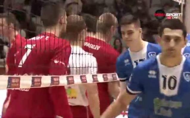 ВК Левски - ВК ЦСКА 3:2 (21:25, 25:27, 25:23, 25:19,