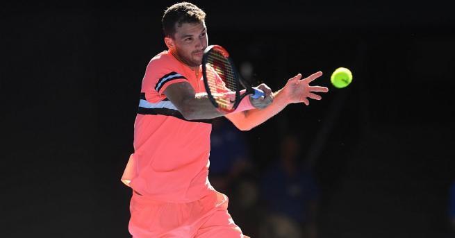 Най-добрия ни тенисист Григор Димитров стартира с победа участието си