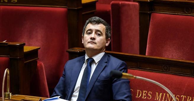 Френският министър на публичните дейности и финансите Жералд Дарманен, който