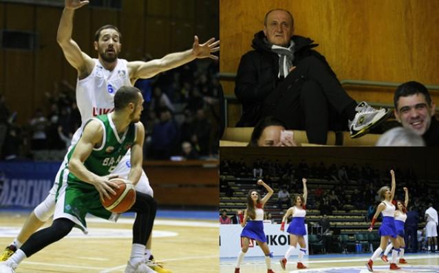 Отборът на Левски Лукойл си върна на Балкан Ботевград за