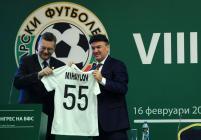 Борислав Михайлов е новият-стар президент на БФС