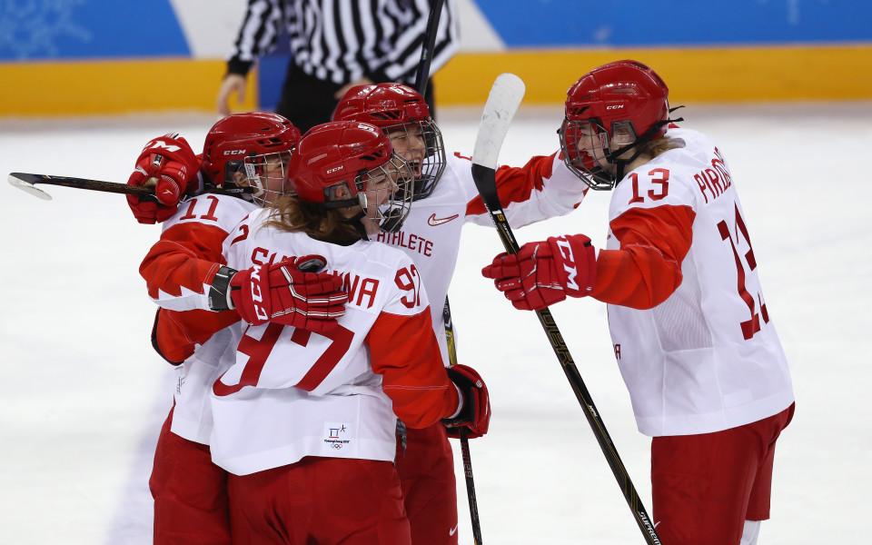 Руските хокеистки за пръв път на олимпийски полуфинал