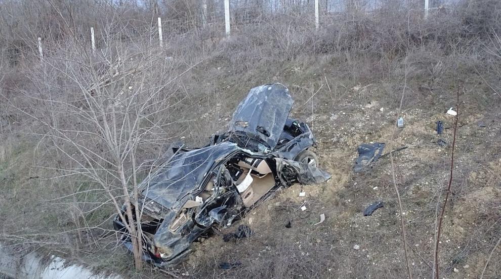 Жена загина при катастрофа на магистрала Струма (СНИМКИ)