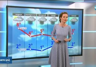 Прогноза за времето (17.02.2018 - централна емисия)
