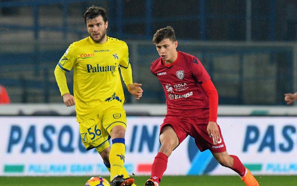 Каляри взе скалпа на Киево в битката от Серия А за Купата