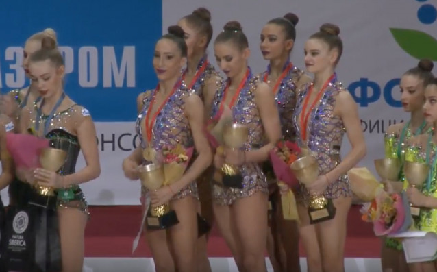 Български ансамбъл по художествена гимнастика<strong> източник: БФХГ</strong>