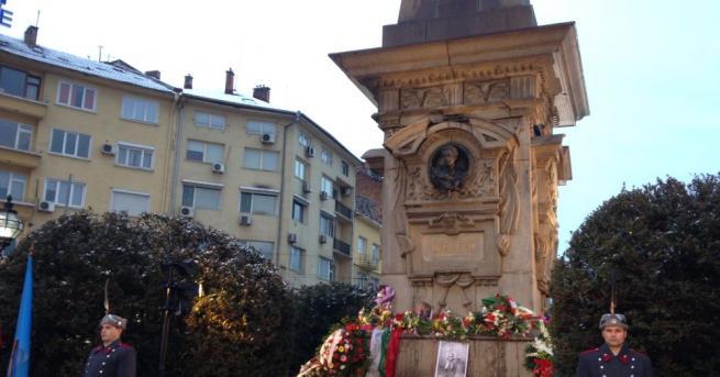 Възпоменанията по повод 145-ата годишнина от обесването на Васил Левски