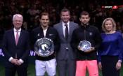 Федерер и Димитров получиха наградите си в Ротердам