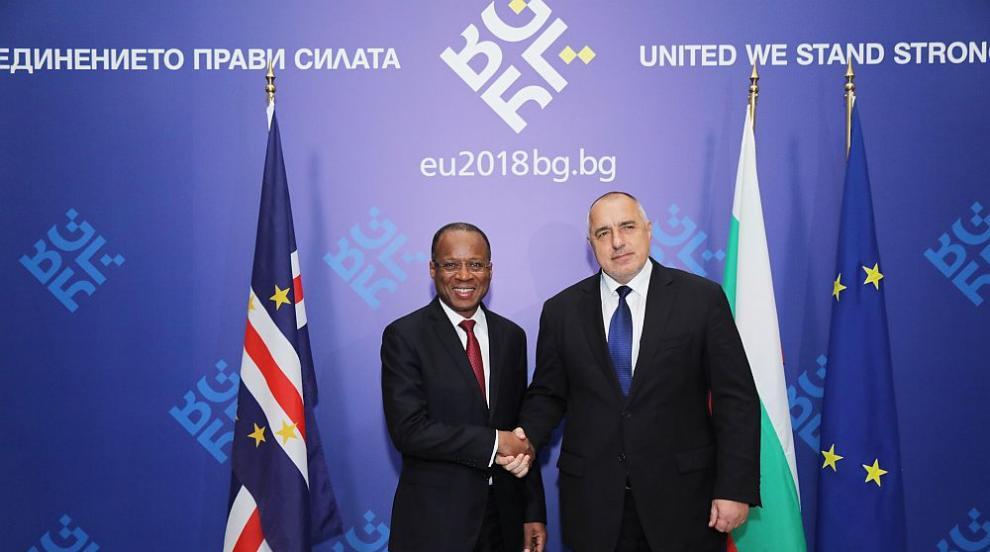 Борисов: Страната ни има сериозни намерения за инвестиции в Кабо Верде
