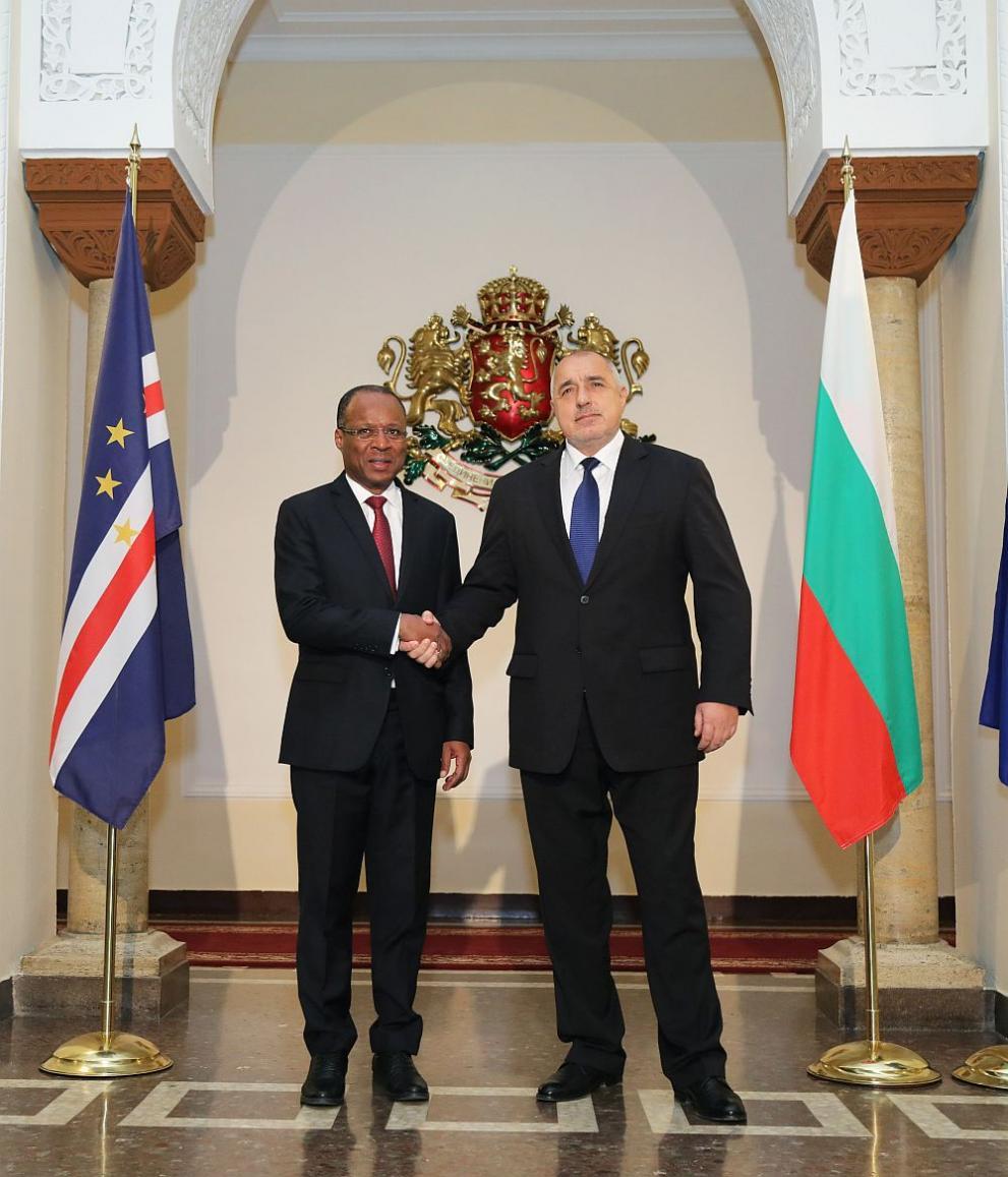Бойко Борисов и премиерът на Кабо Верде Жузе Юлисеш де Пина Корея е Силва