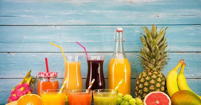 Хората, които пият 170 мл плодов сок всеки ден, бавно,