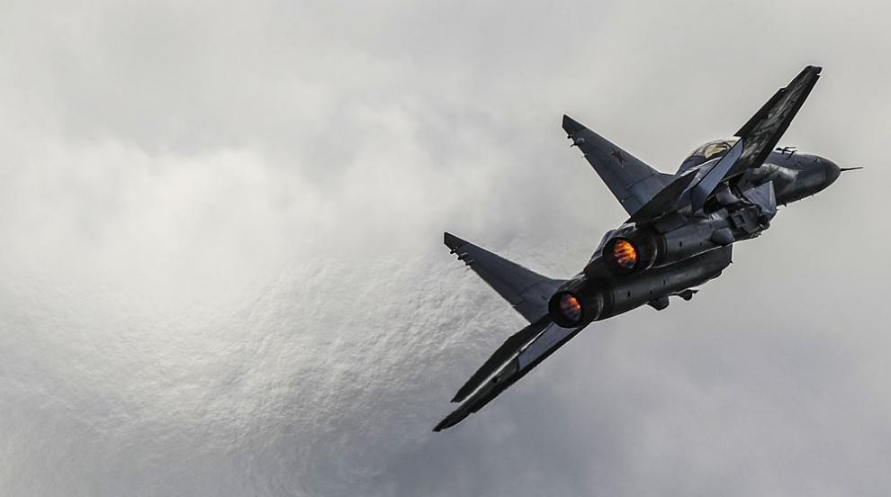 Боен изтребител МиГ-31 се разби в Русия