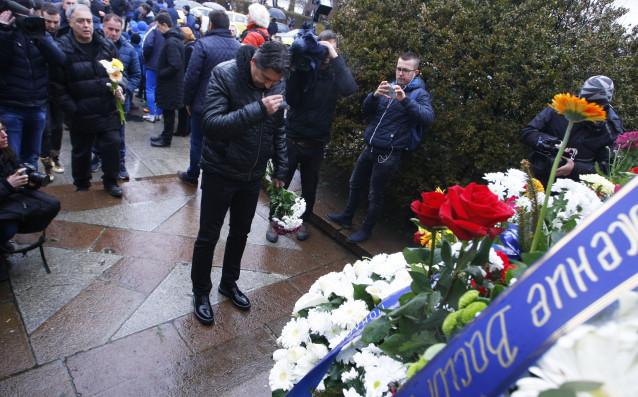 Шефът на детско-юношеската школа на Левски Даниел Боримиров се преклони