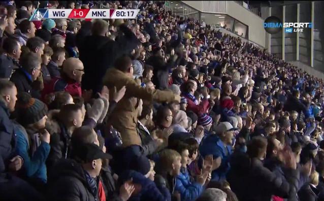 Голът на Уил Григ за Уигън срещу Манчестър Сити донесе