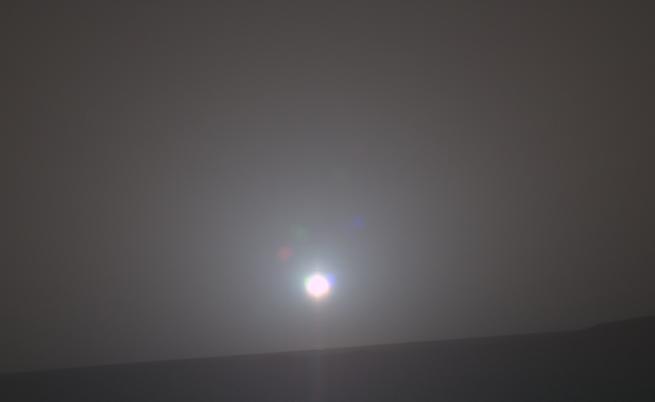Облаците на Марс се образуват заради метеорити