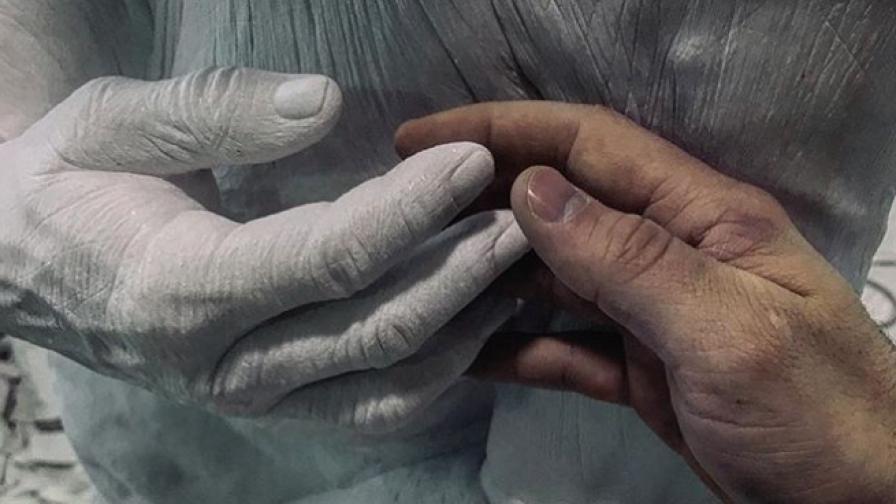 """Съвременният Микеланджело и """"живите"""" му скулптури"""