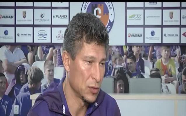 Главният мениджър на Етър Красимир Балъков даде обширно интервю за