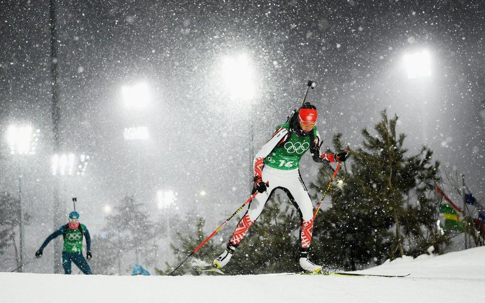 Французойката Жюстин Бреза триумфира в индивидуалния старт на 15 километра