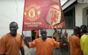Убийци играят за Манчестър Юнайтед в затвора