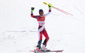 Швейцария е първият олимпийски шампион в отборното състезание в алпийските ски