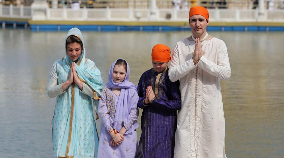 Канадският премиер Трюдо показа умения на танцьор в Индия (ВИДЕО)