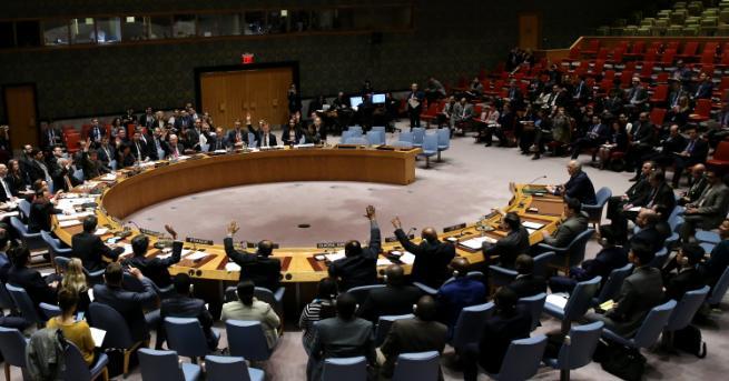 Съветът за сигурност на ООН единодушно одобри резолюция, настояваща за