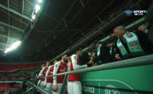 Арсенал прибра сребърните медали от финала срещу Сити