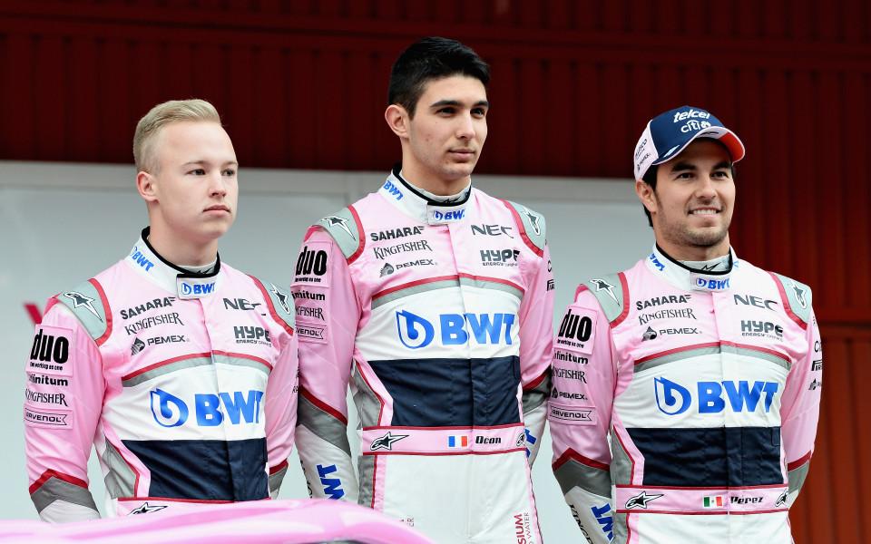 Форс Индия представи болида си за новия сезон във Формула 1