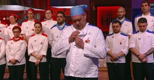 След елиминационната вечер в Hell's Kitchen България снощи, Тодор Иванов