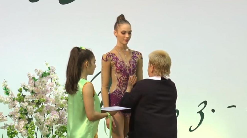 Десет медала за българските гимнастички от двата турнира в Рига