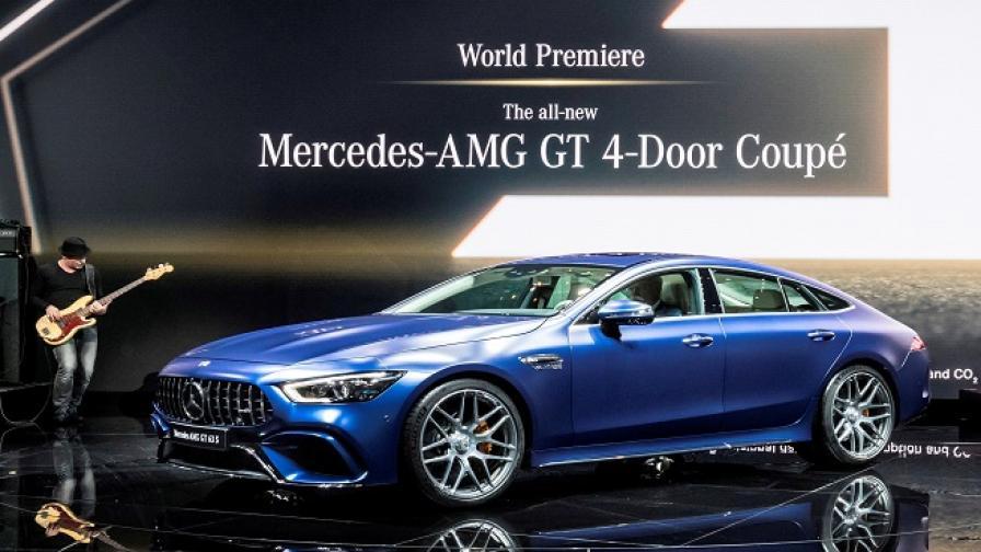 Mercedes-AMG GT 4 Coupe e онова, което CLS не е