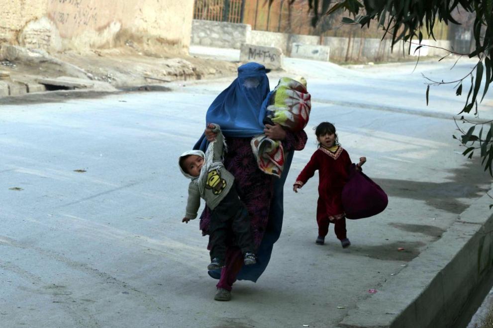 жена Афганистан