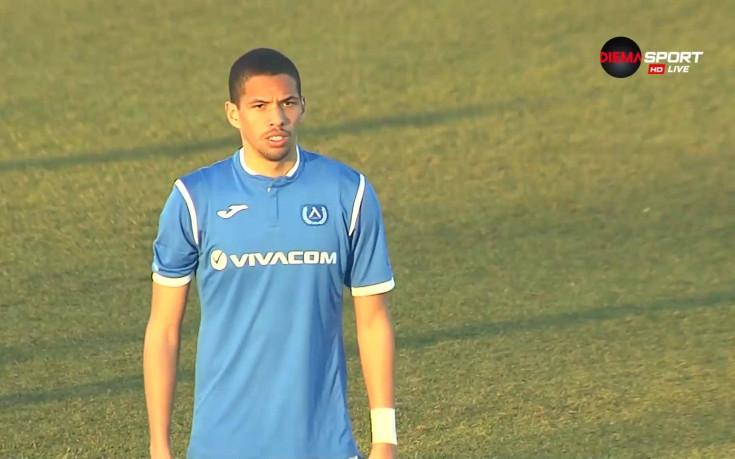 Синът на Ривалдо дебютира като титуляр за Левски