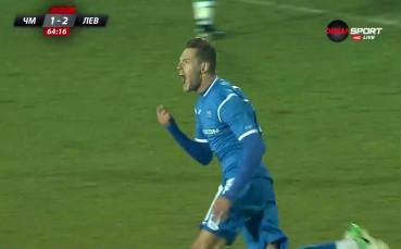 Яблонски покачи за Левски срещу Черно море